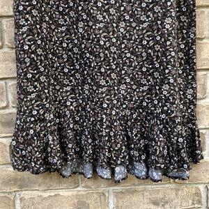 Christopher & Banks Skirts - Chris. & Banks: floral midi skirt